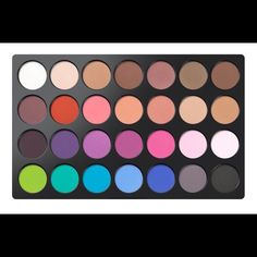 BH Cosmetics Modern Mattes 28 Eyeshadow Palette Brand new in box. My normal discount is off of 2 or more items unless I'm running a sale to save more! Makeup Eyeshadow, Eyeshadow Palette, Nyx Matte, Makeup Cosmetics, Modern, Running, Beauty, Things To Sell, Box