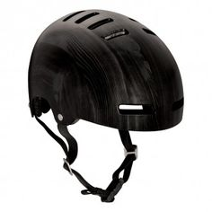 Lazer Urban Deluxe bike helmet - Dark Wood. For the eco warrior cyclists, this is the most beautiful helmet