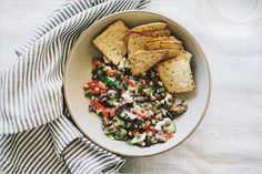 Greek Salad Dip . Sprouted Kitchen