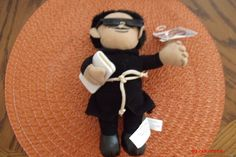 "NEW HOMIES ""ELPADRECITO""  MINI PLUSH DOLL STUFFED TOY #Homies#Mijos"