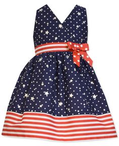 Bonnie Baby Baby Girls' Americana Halter Dress - Kids Baby Girl (0-24 months) - Macy's