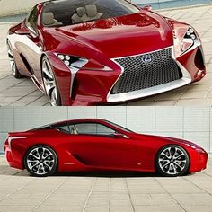 Lexus LF-Lc, this car's exhaust is so loud it can shatter a wine glass behind it.... In that case! I'll take 2 :-D