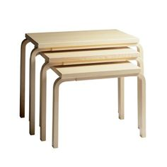 Nesting coffee tables 88
