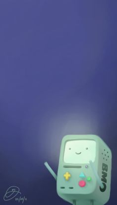 """Beemo - Day 1 in Mike Horowitz's """"30 Days of Adventure Time"""""""