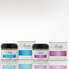 Elite Smoothing Cellulite Cream / Face & Neck Firming Cream Value Package - Skin Care