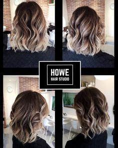 """Latest Balayage Colored Short Hair You Will Love, Balayage Hair Color Ideas for 2019 What do you want to tell? With its French definition meaning """"to sweep or paint,"""" just so when it comes to hair… Love Hair, Great Hair, Gorgeous Hair, Amazing Hair, Beautiful, Hair Color And Cut, Short Hair Colors, Hair Color Balayage, Balayage Hairstyle"""