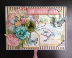 How to Alter a Box Using Graphic 45's Botanical Tea