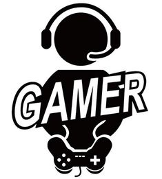 Silhouette Portrait, Silhouette Cameo, Gamer Quotes, Video Game Party, Gamer Room, Gaming Wallpapers, Game Art, Vinyl Decals, Logo Design