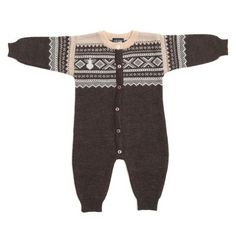 marius wool playsuit - Ugly Childrens Clothing