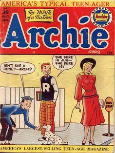 Archie 39, Archie Comic Publications, Inc. https://www.pinterest.com/citygirlpideas/archie/