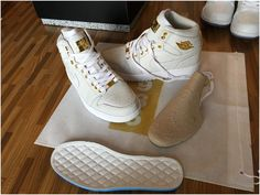 AUTHENTIC AIR JORDAN 1 PINNACLE WHITE8