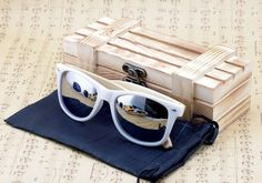 BOBO BIRD Luxury Men and Women Handcrafted Bamboo Sunglasses Polarized Lenses