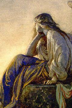 Le Prince Lointain: Alexandre Cabanel (1823-1889), L'Ange du Soir - 1848