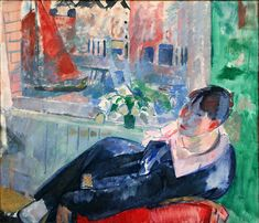 Rik Wouters paintings of his wife and sculptor of crazy violence