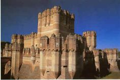 The castle of Coca was built in the late fifteenth century by Don Alonso de Fonseca, one of the most magnificent and luxury-loving magnates of Castile. It lies in the province of Segovia but is close to the border of Valladolid. Cuellar, Arevalo, Olmedo, and Coca formed a square of great strategic importance.