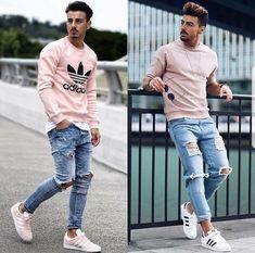 Fantastic Tips and Tricks: London Urban Fashion Outfit urban fashion ideas inspiration.London Urban Fashion Outfit urban wear for men jeans. Urban Fashion Girls, Hipster Fashion, Fashion Kids, Fashion Shoot, Fashion Black, Fashion Clothes, Men's Fashion, Fashion Trends, Fashion 2018