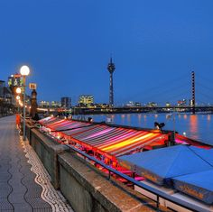 Düsseldorf Abendstimmung