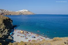 Tzanaki beach - → www. Greek Beauty, Travel Guide, Greece, In This Moment, Beach, Places, Water, Greek Islands, Outdoor