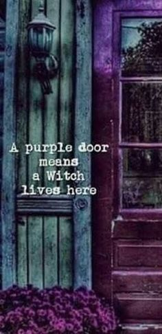 A purple door ? I have a purple door Alphabet Poster, A4 Poster, Tarot, Pretty Things, Wiccan Decor, Wiccan Art, Wiccan Crafts, Maleficarum, Which Witch