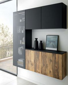 We didn't want a bathroom, but a real living space that was beautiful, pure, simple and stylish all at the same time. A place that was more than just functional and featuring our own personal touch. Kitchen Room Design, Modern Kitchen Design, Kitchen Interior, Home Interior Design, Living Room Designs, Living Room Decor, Living Spaces, Armoire Entree, Crockery Cabinet