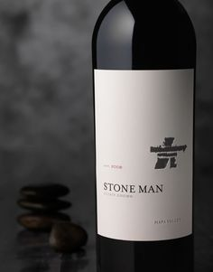 CF Napa Brand Design - Stone Man - CF Napa vinos maximum taninotanino