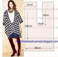 PONCHO-1 ~ Templates Fashion by Measure