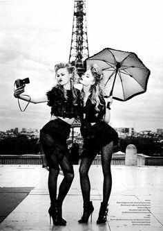 Camilla Christensen & Emma Stern Nielsen by Ellen Von Unwerth for Vs. S/S 2014