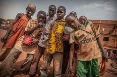 poor street children on the border mali burkina faso, Sahe… | Flickr
