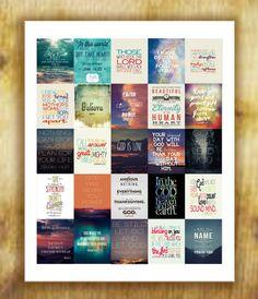 Bible Verses Stickers Set 2 for Erin Condren by RemanDesignStudio