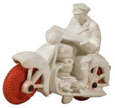 c.1946 Auburn Motorcycle Cop, Vinyl (ver.2)