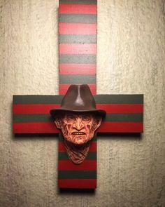 Custom Nightmare on Elm Street Freddy Krueger Wall by HaskellFX