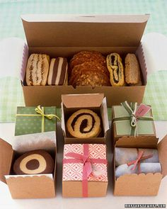 baked goods as gifts. What I want for my birthday