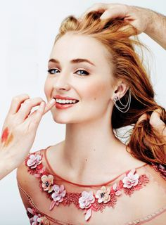 """""""Sophie Turner for Glamour Mexico (July 2015)"""""""