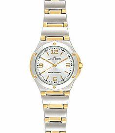 Anne Klein TwoTone SilverDial Watch #Dillards