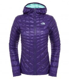 The North Face Women's Thermoball Hoodie Jacket Garnet Purple