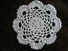 Ravelry: Lacy Round Dishcloth pattern by Pam Tyler