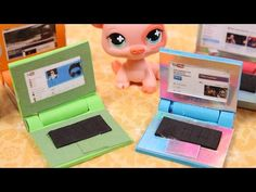 How to make a LPS Laptop - YouTube