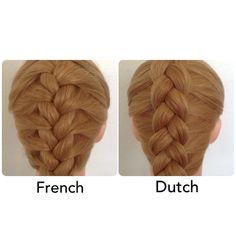 Abella's Braids: How to Dutch Braid