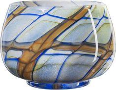 Vivienne bowl blue by Kosta Boda. Kosta Boda, Vivienne, Decorative Items, Wine Glass, Beautiful Things, Blue, Home Decor, Decoration Home, Decorative Objects