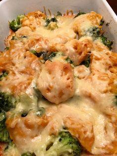 Ovenschotel met zoete aardappel en broccoli