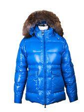 AUT Pyrenex Blue Down Jacket US 6 FR 38 IT 40 Excellent condition