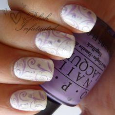 Elegant wedding nails - Check out navarragardens.com for info on a beautiful Oregon wedding destination!
