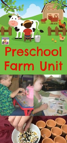 The Farm Preschool Unit Preschool Farm Unit Homeschool Farm unit The Farm, Farm Animal Toys, Farm Animals, Preschool Activities, Preschool Farm Theme, Preschool Prep, Farm Unit, Barnyard Party, Classroom Displays