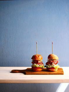 Sliders - mini hamburger the tasty imagination world
