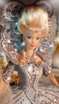 Close up of Bob Mackie Madame du Barbie