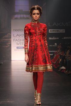 Indian bridal clothes Neeta Lulla Fall 2011