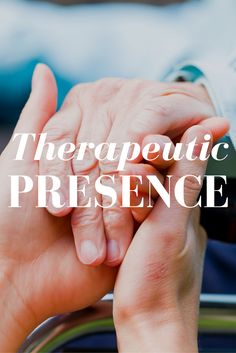 American psychologist James F.T. Bugental, Ph.D., described three components of therapeutic presence:  1. Being open and present to all parts of the client experience; 2. Being open to all of one's own experience as one is with the client; and 3. Being able to respond from the immediacy of 1 and 2, noted above, combined.