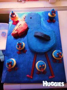 Pukeko cake