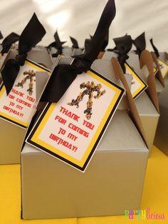 {Transformers Birthday}   CatchMyParty.com