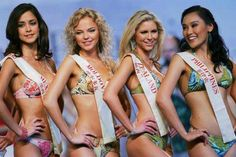 Beauty pageant criticised for Swimsuit Round